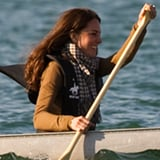Kate Middleton and Prince William Rowing in Canada [Video]