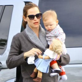 Jennifer Garner with Ben Affleck, Samuel Affleck | Pictures