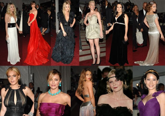 All the Ladies Come Out For Costume Institute Gala