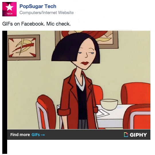Post GIFs — Even in the Comments