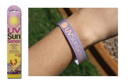 This Wristband Tells You When You've Had Enough Sun