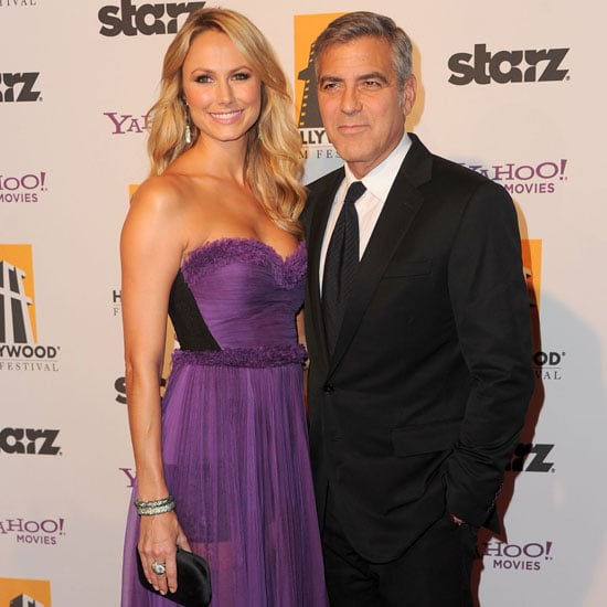 Clooney & Keibler Pictures at 2011 Hollywood Film Awards