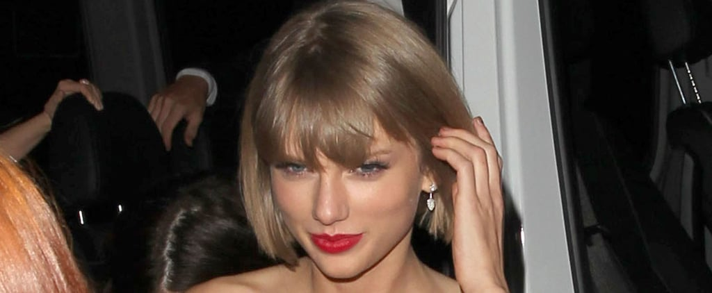 Taylor Swift Sports a Huge Smile After Reuniting With Calvin Harris at a Grammys Afterparty