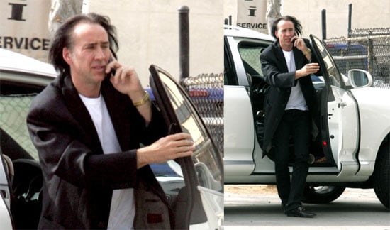 Nic Cage Stays in Character