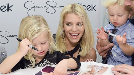 Jessica Simpson's Kids Are Giving Us Serious 'Hair Goals'