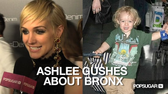 Video of Ashlee Simpson With Short Hair Talking About Bronx 2010-11-03 12:25:08