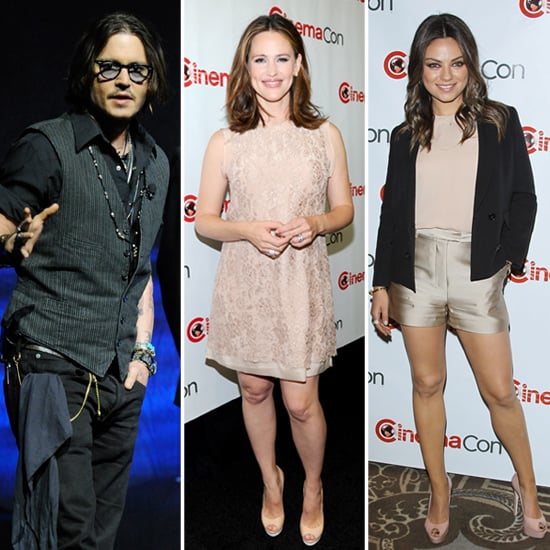 Jennifer Garner and Johnny Depp Light Up CinemaCon!