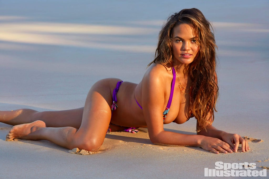 Chrissy Teigen Bikini Sports Illustrated Swimsuit Issue Popsugar Fashion