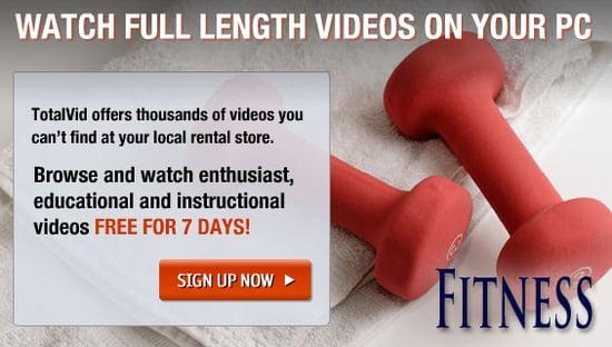 TotalVid: Downloadable Workout Videos