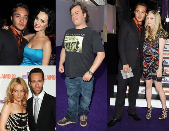 Photos of Ed Westwick, Katy Perry, Jack Black and Becki Newton at the 2009 Glamour UK Women of the Year Awards