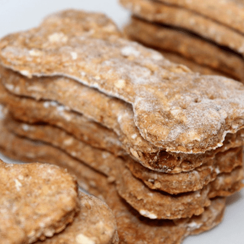 Your Pup Will Beg For More of This Homemade Apple Crisp Dog Treat