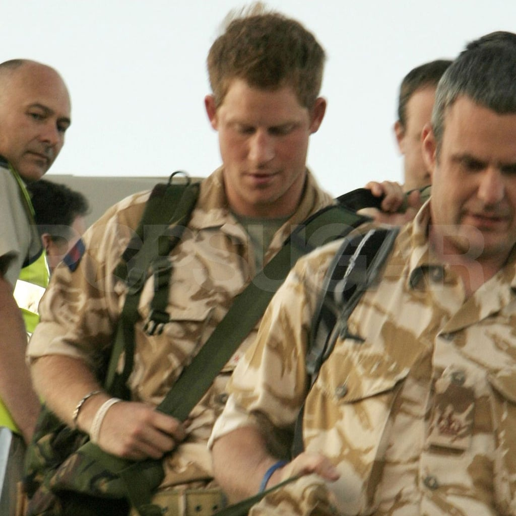 Prince Harry arrives in the US!