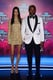 Tyson Beckford and girlfriend Shanina Shaik posed together at the MTV EMAs.