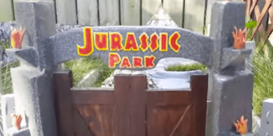 Man Builds Rescue Tortoise Its Very Own 'Jurassic Park'