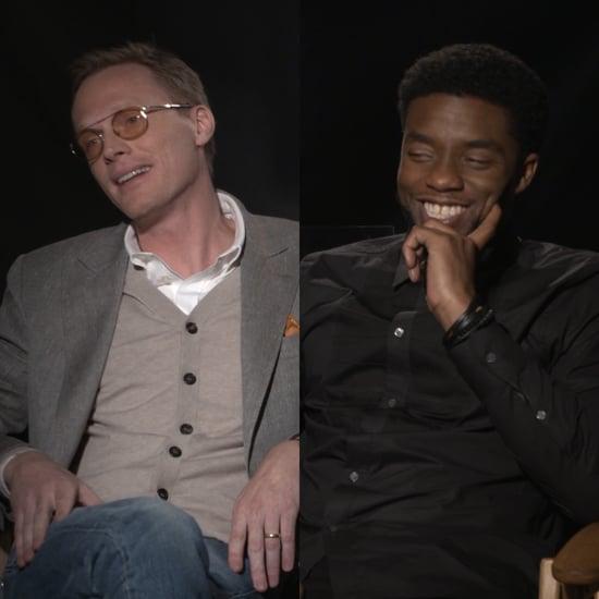 Chadwick Boseman & Paul Bettany Interview | Captain America
