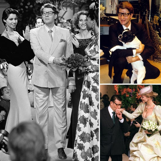 Yves Saint Laurent Birthday Fashion Pictures