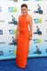 Sophia Bush wore a bright red orange gown for the Do Something Awards.