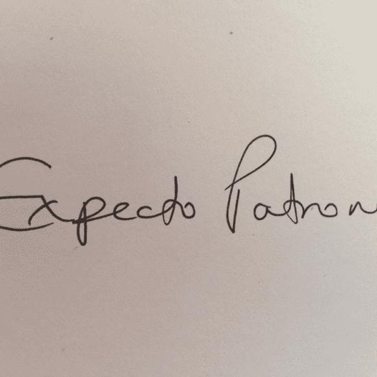 J.K. Rowling Expecto Patronum Tattoo
