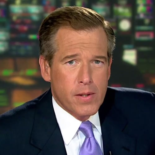 "Brian Williams Rapping to ""Gin and Juice"" 