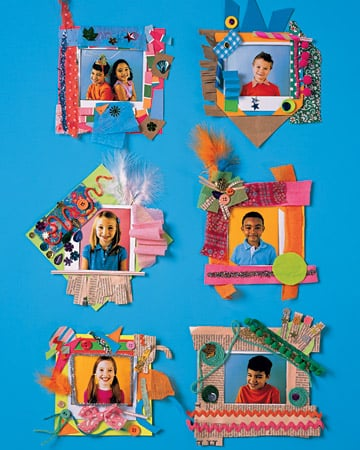 Decorate Paper Photo Frames