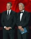 Matt Damon and Michael Douglas presented an award together at the 2013 Emmys.