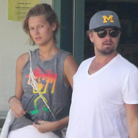 Leonardo DiCaprio and Toni Garrn Record Shopping