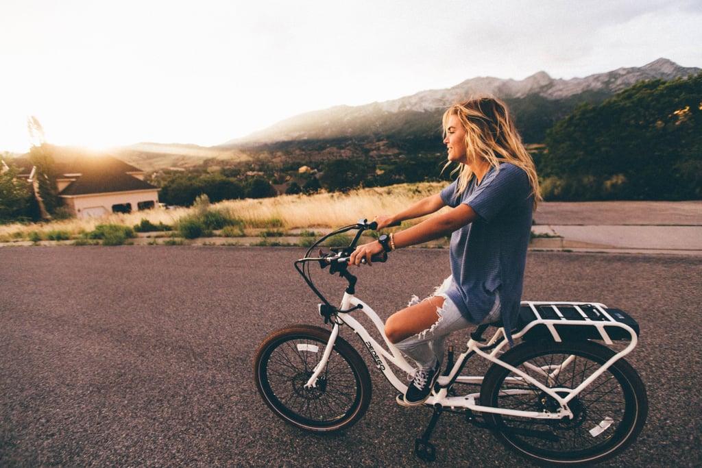 Ride Bikes at Sunset