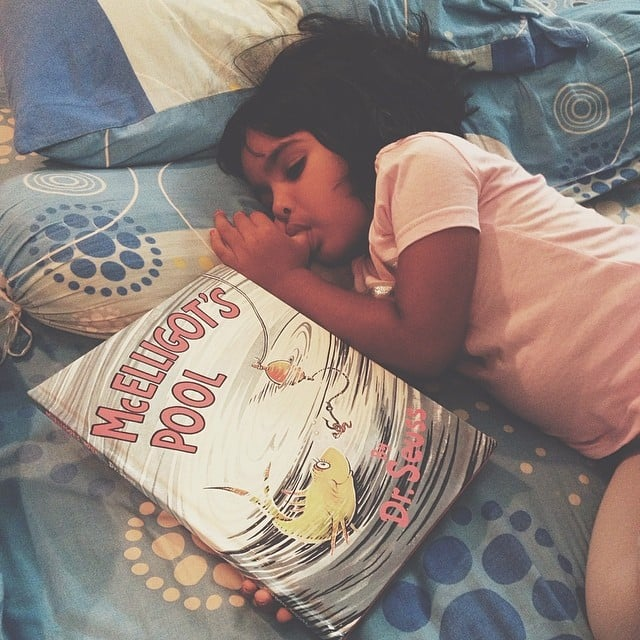 """Bed time routine — get one in place ASAP!"" — Emma H.  Source: Instagram user thumahmed"