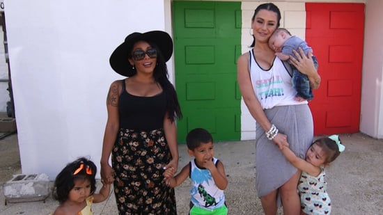EXCLUSIVE: Snooki & JWoww Bring Their Kids Back to the 'Jersey Shore' House: 'I Can't Believe It's Still Standing'