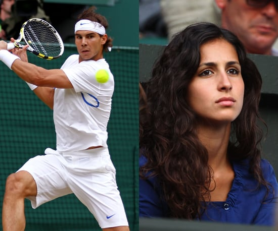 "Rafael Nadal and María Frencisca ""Xisca"" Perello"
