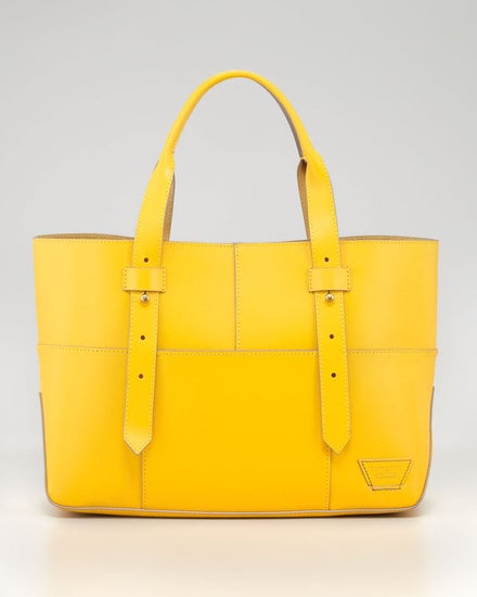 The easiest way to brighten up your look might just be with this IIIBeCa Harrison Street Tote Bag ($178) on your arm.