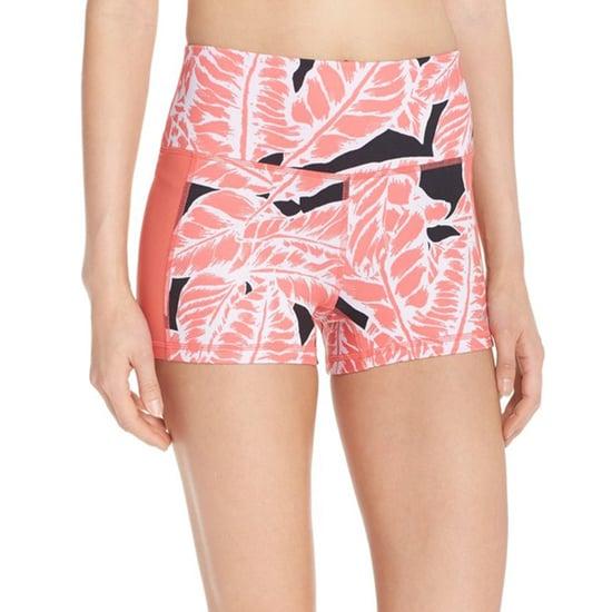 Graphic Printed Activewear Shorts