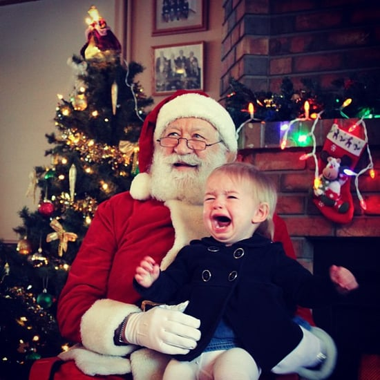 Kids' Pictures With Santa