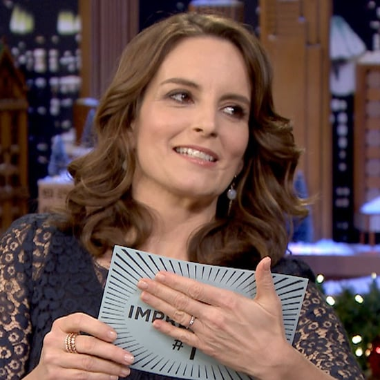 Tina Fey Does First Impressions on The Tonight Show 2015