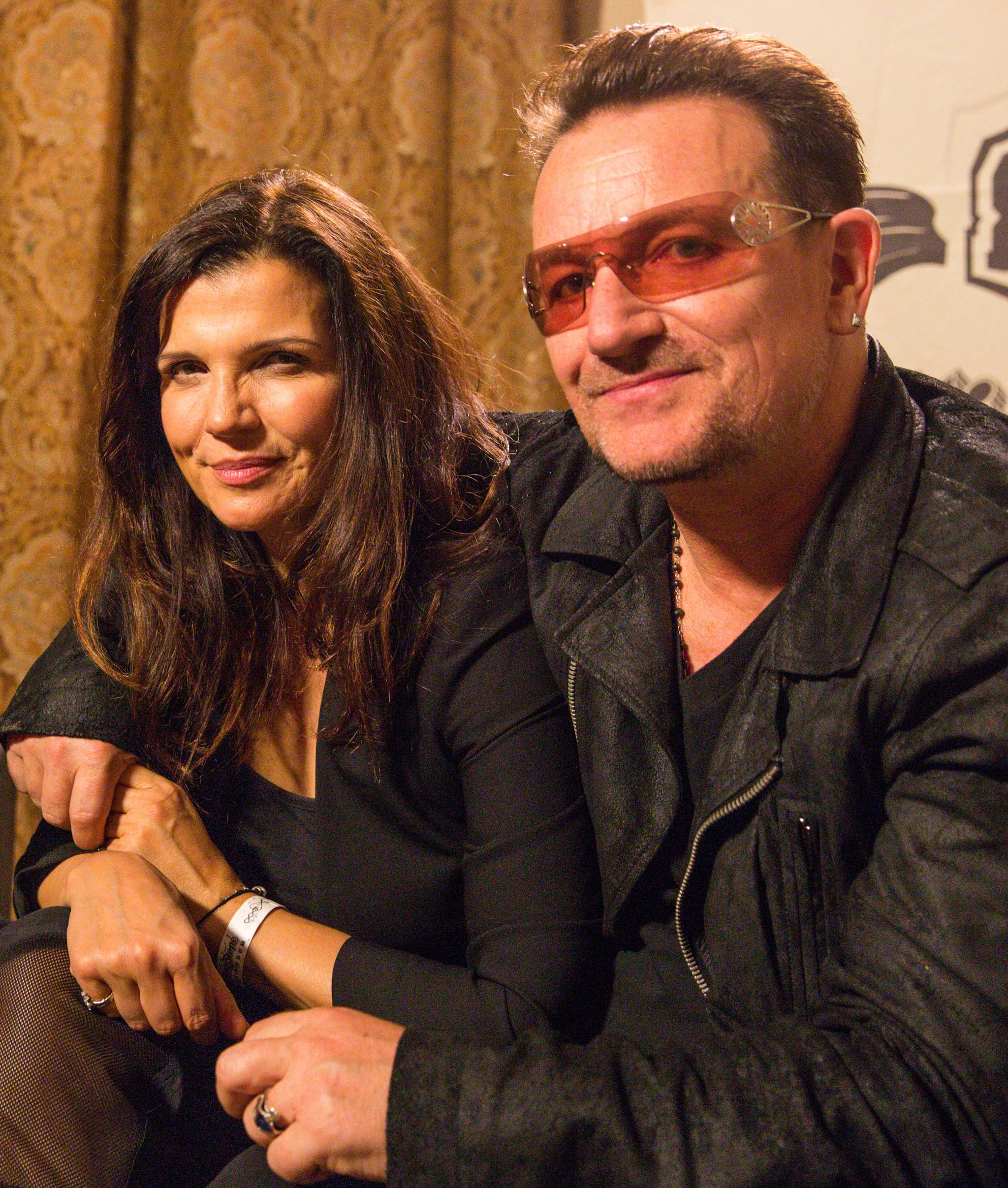 Ali Hewson and her husband, Bono, hosted an event for their line Edun in 2013.