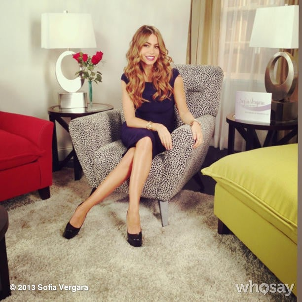 Sofia Vergara launched her new furniture collection in NYC. Source: Sofia Vergara on WhoSay