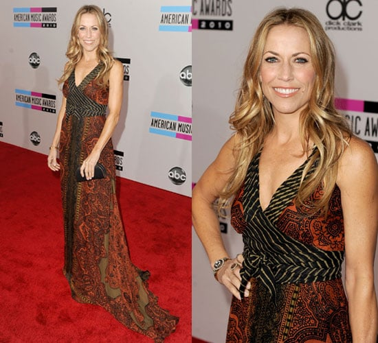 Sheryl Crow at the 2010 American Music Awards