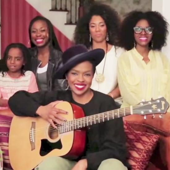 "Lauryn Hill Sings Acoustic ""Doo Wop (That Thing)"""