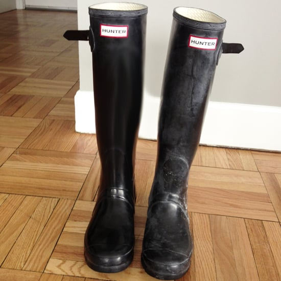 How To Clean Hunter Wellies