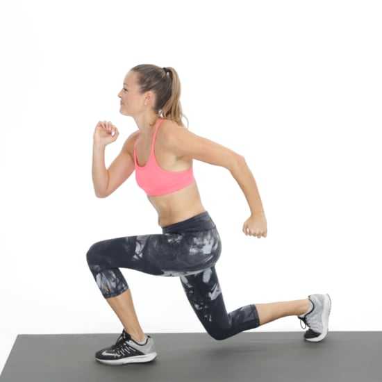 How to Do Lunge Jumps Without Hurting Your Knees