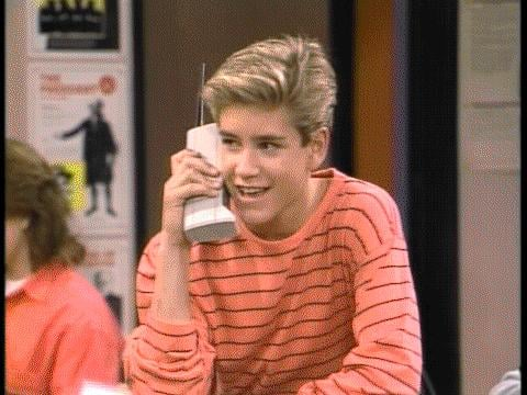 And so next week, you'd call again — you had 777-FILM on speed dial.