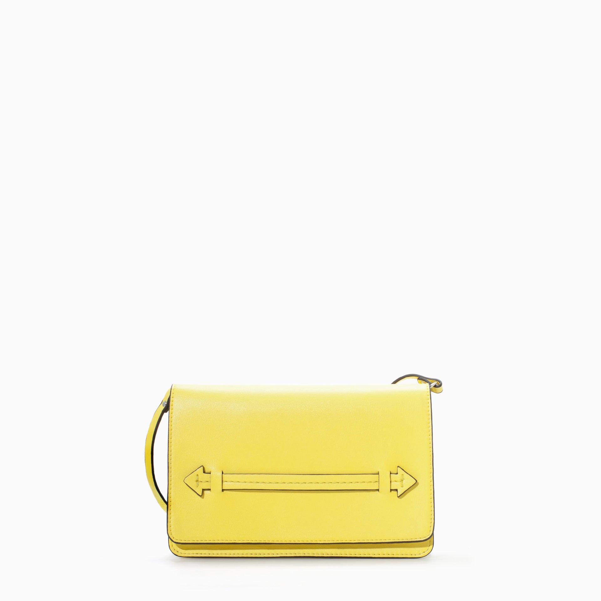 Zara Yellow Clutch