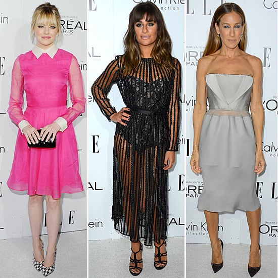 Elle Women in Hollywood Best Dressed | October 2012