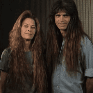 Long-Haired Couple Gets Makeover