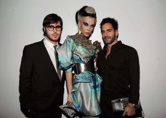 Marc Jacobs and Daphne Guinness Toast François Nars and His New Book