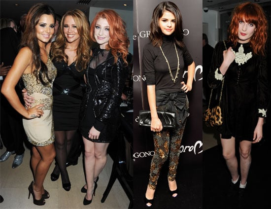 Cheryl Cole, Selena Gomez and Florence Welch at Jewellery Launch in London