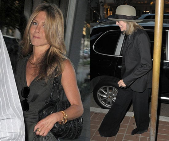 Photos Of Jennifer Aniston at Dinner with Diane Keaton