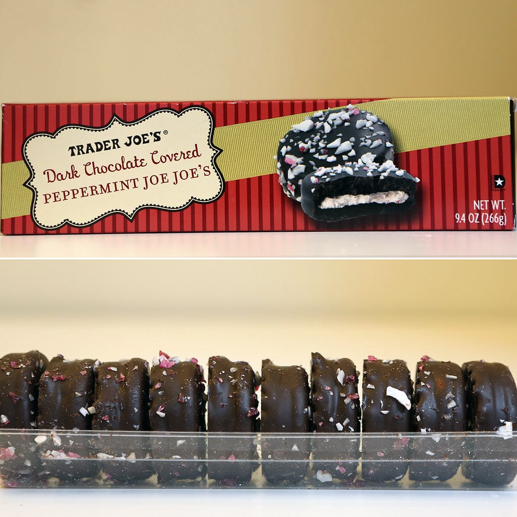 Trader Joe's Dark Chocolate Covered Peppermint Joe-Joe's