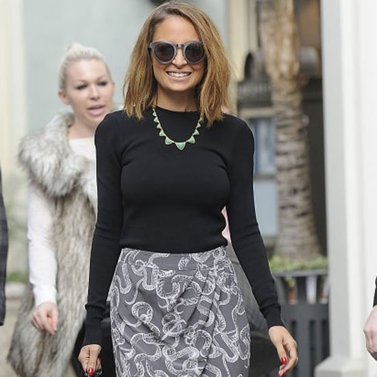 Nicole Richie Filming Extra at The Grove in LA | Pictures