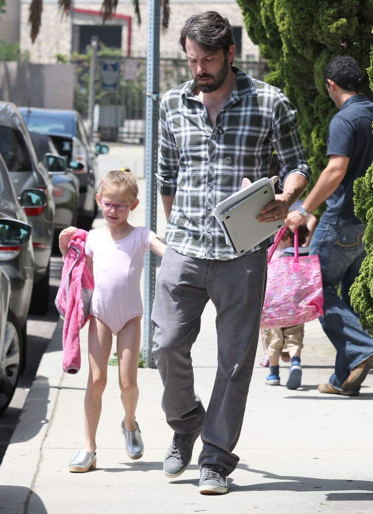 Ben Affleck Takes On Dad Duty With Prima Ballerina Violet